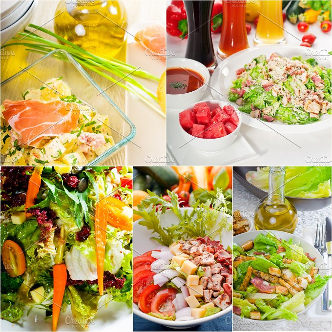 mixed salad collage 19.jpg - Food & Drink