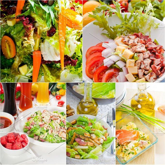 mixed salad collage 18.jpg - Food & Drink