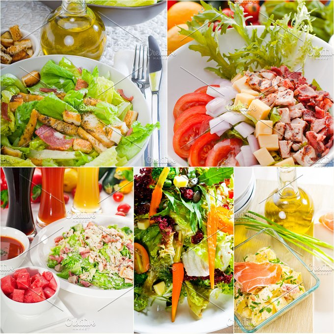 mixed salad collage 16.jpg - Food & Drink