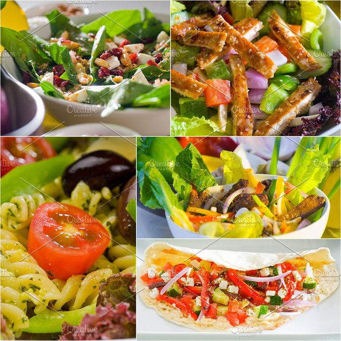salad collage 11.jpg - Food & Drink