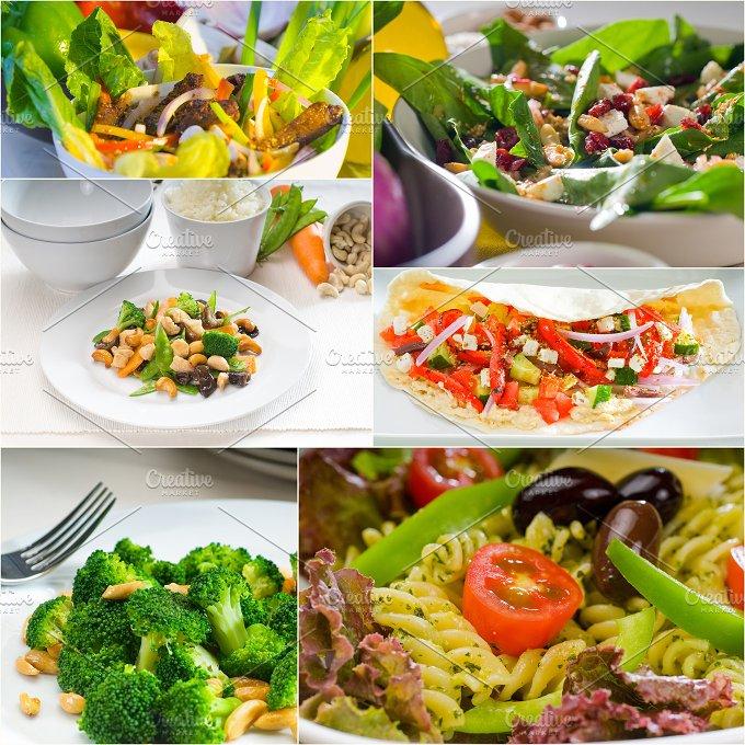 salad collage 4.jpg - Food & Drink