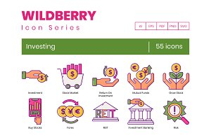 Investing Icons   Wildberry Series
