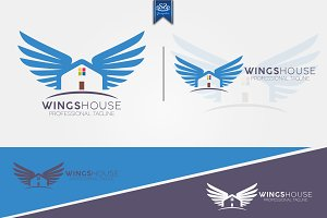 Wings House Logo