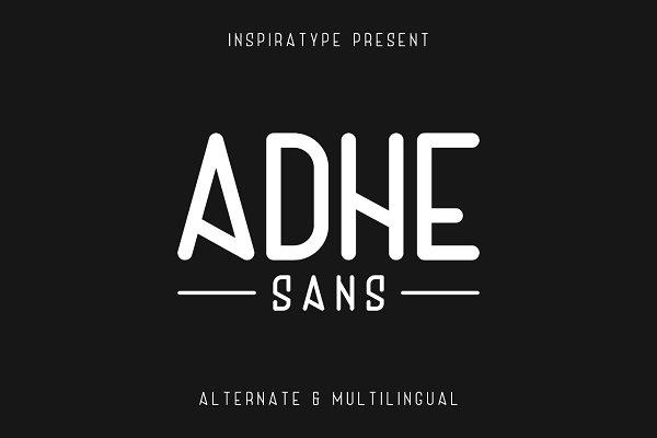 Sans Serif Fonts - Adhe Sans