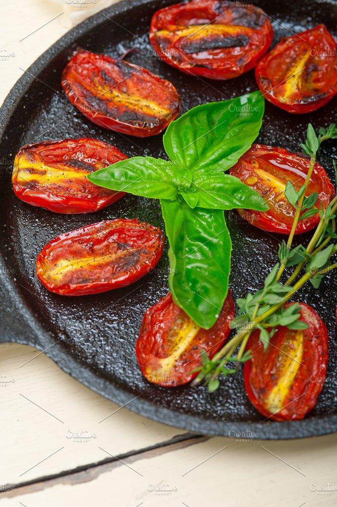 baked cherry tomatoes 008.jpg - Food & Drink