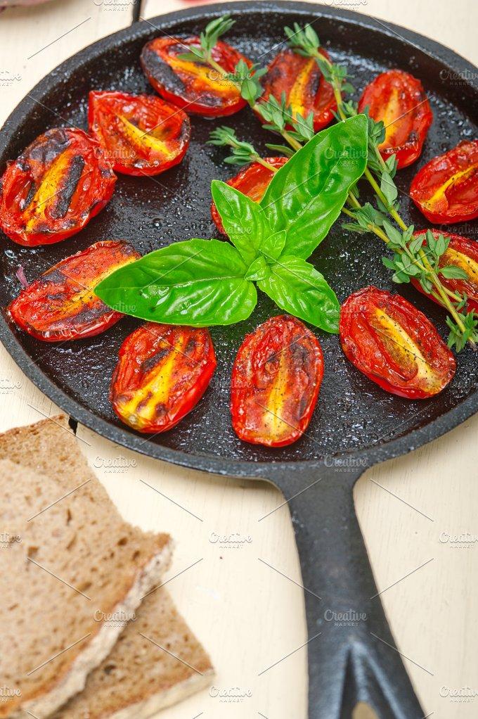 baked cherry tomatoes 017.jpg - Food & Drink