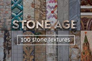 Stone Age - 100 stones textures