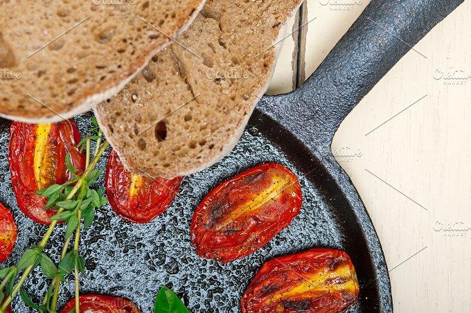 baked cherry tomatoes 045.jpg - Food & Drink