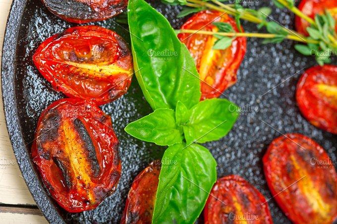 baked cherry tomatoes 053.jpg - Food & Drink