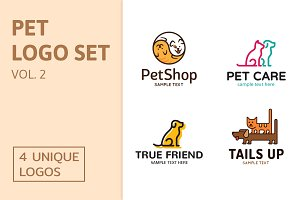 Pet Logo Set Vol. 2