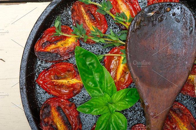 baked cherry tomatoes 063.jpg - Food & Drink