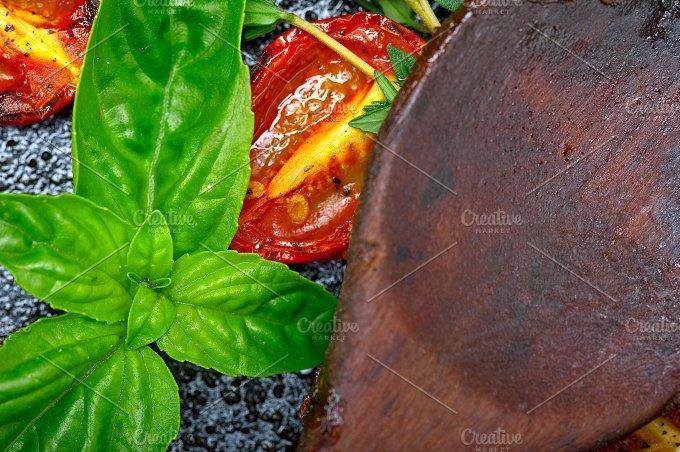 baked cherry tomatoes 065.jpg - Food & Drink