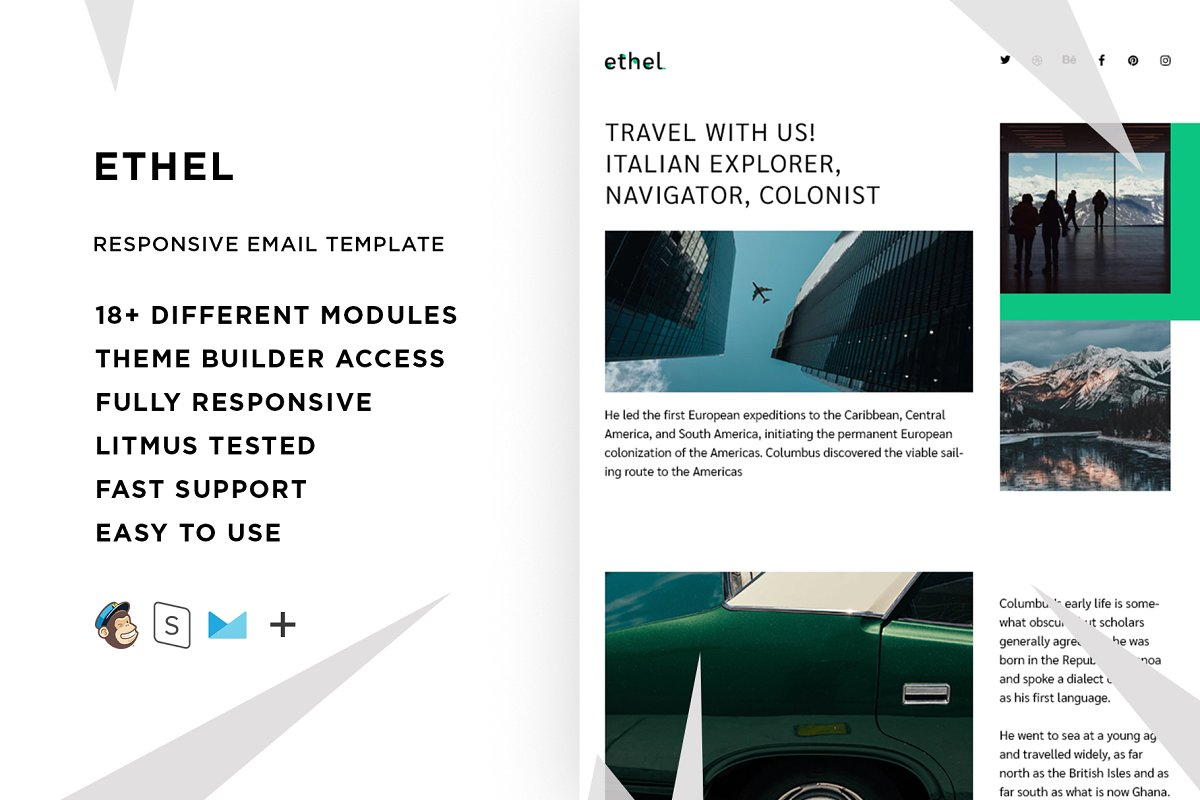 Ethel – Responsive Email template