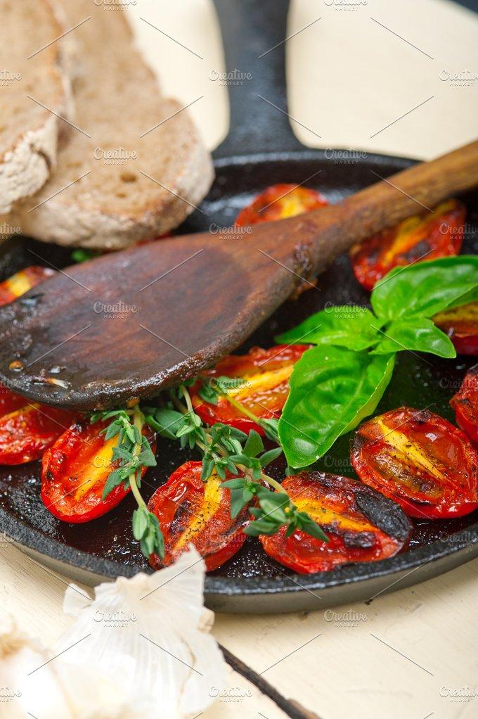 baked cherry tomatoes 068.jpg - Food & Drink