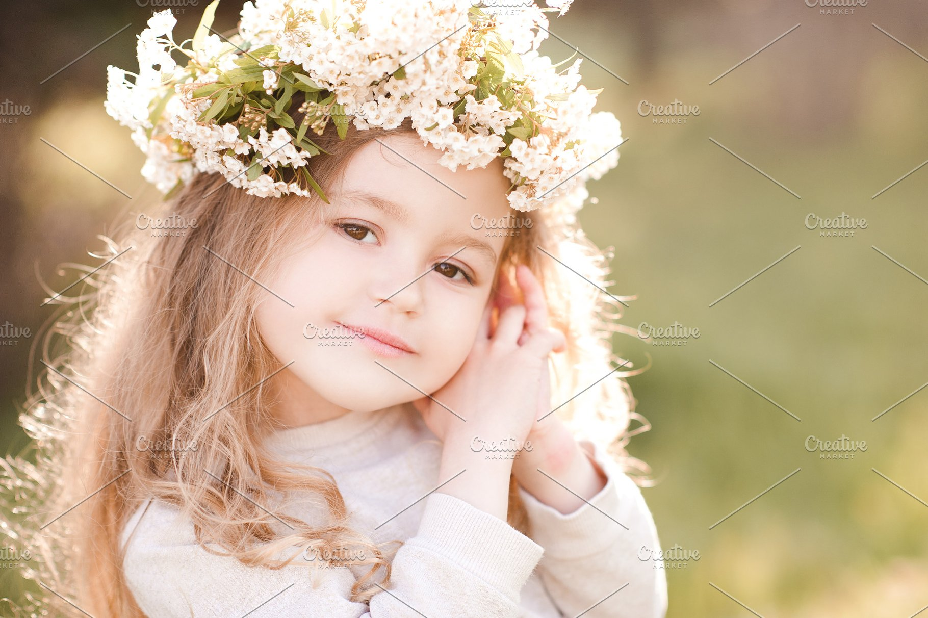 Smiling Baby Girl High Quality People Images Creative
