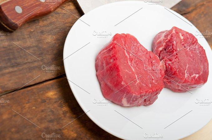 beef raw filet mignon 007.jpg - Food & Drink