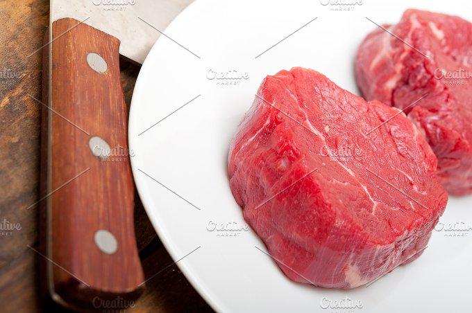 beef raw filet mignon 010.jpg - Food & Drink