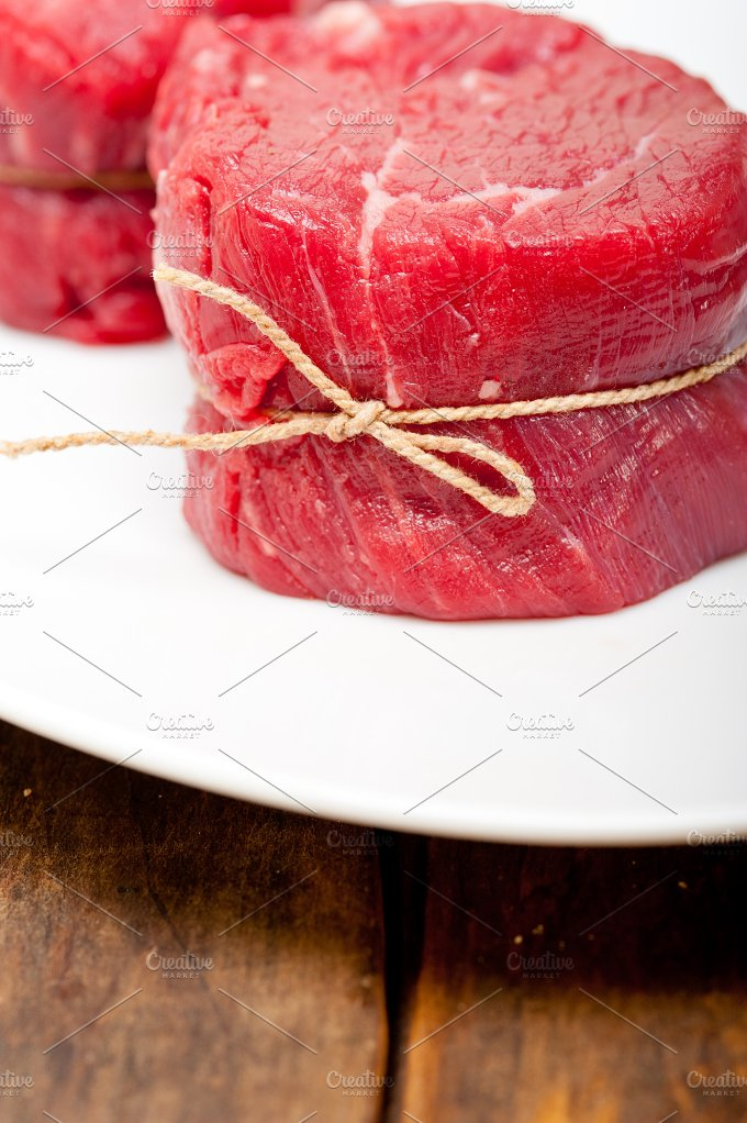 beef raw filet mignon 013.jpg - Food & Drink