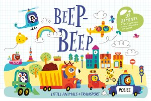 BEEP-BEEP! A kit for children