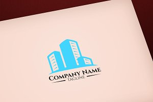 Construction vector logo design