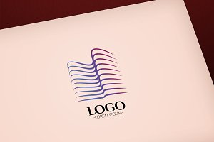 Modern Abstract Construction logo