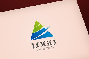 Modern Construction vector logo