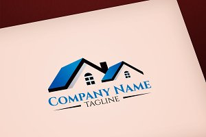 Real Estate concept vector logo