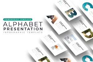 Alphabet - Infographic Template