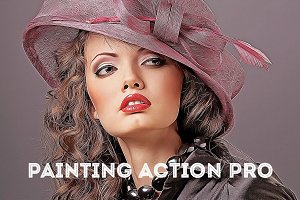 Painting Action Pro! (Photoshop)