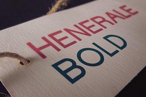 Henerale Bold