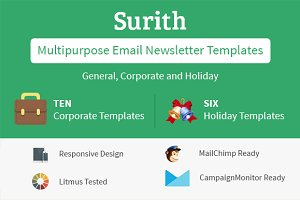 Surith - email newsletter Templates