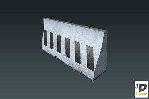 Concrete Barrier #13