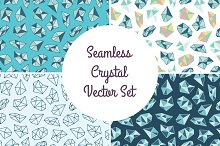 Seamless Crystal Backgrounds