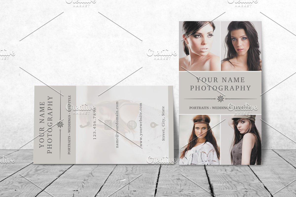 Business Card Template 009 Photoshop