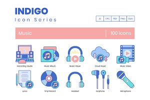 Music Icons | Indigo Series