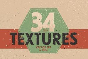 34 Vintage Vector Textures