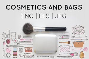 Cosmetics and bags