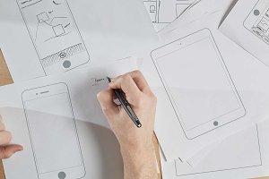 Printable UI Prototypes (Apple)