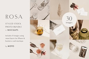 Rosa - Stock Photo & Mockup Bundle