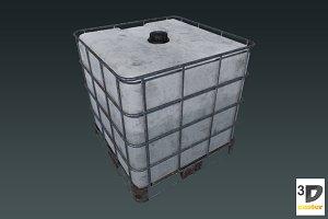Water Tank Cube