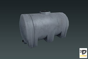 Water Tank - Big Plastic Barrel