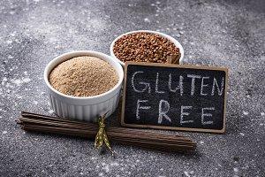 Gluten free buckwheat flour and soba