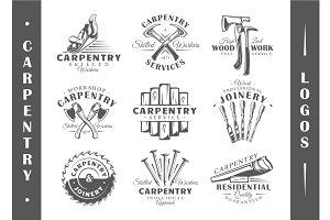 9 Modern Carpentry Logos Vol.2