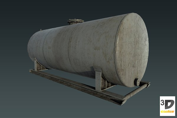 3D Tools: 3DCaster - Water Storage Tank Big