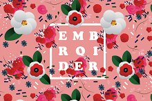 Embroider Pattern Set by  in Patterns