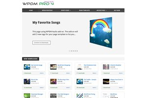 Crypton - App Store Styled WP Theme