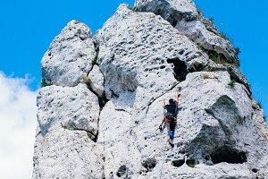 Climbing rocks 2