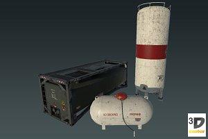 Storage Tank Set