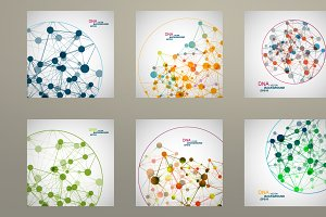 Set vector network connect. Vol.1