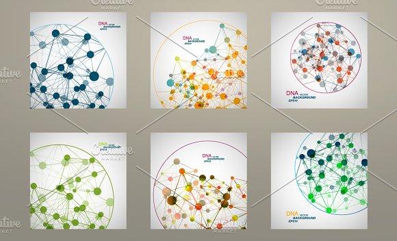 Set vector network connect. Vol.1 - Patterns